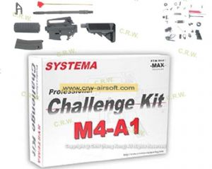 Professional Training Weapon Challenge Kit M4-A1 SUPER MAX (Fixed Stock-version) by PTW